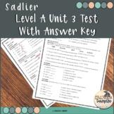 Vocabulary Workshop Level A Unit 3