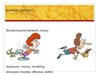 Sadlier Vocabulary Workshop Level A -- Unit 10 Powerpoint
