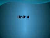 Sadlier Vocabulary Workshop Level A -- Unit 4 Powerpoint