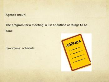 Sadlier Vocabulary Workshop Level A -- Unit 6 Powerpoint