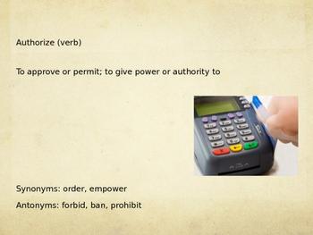 Sadlier Vocabulary Workshop Level A -- Unit 7 Powerpoint