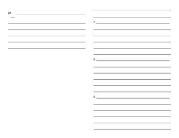 Sadlier Vocabulary Workshop worksheet Unit 5 1-10 Level B