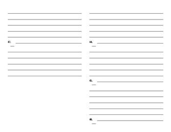 Sadlier Vocabulary Workshop worksheet Unit 4 1-10 Level C