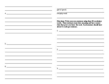 Sadlier Vocabulary Workshop worksheet Unit 4 11-20 Level B