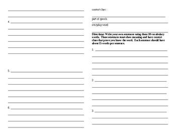 Sadlier Vocabulary Workshop worksheet Unit 5 11-20 Level B