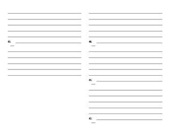 Sadlier Vocabulary Workshop  worksheet Unit 4 11-20 Level C