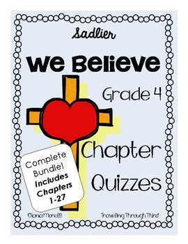 Sadlier religion teaching resources teachers pay teachers sadlier we believe religion quizzes grade 4 fandeluxe Choice Image