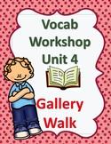 Sadlier's Vocabulary Workshop Level Orange 4th grade Unit