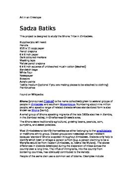 Sadza Batiks