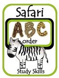 Safari ABC Order