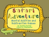 Safari Adventure Mental Addition and Subtraction Games