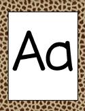 Safari Alphabet Cards