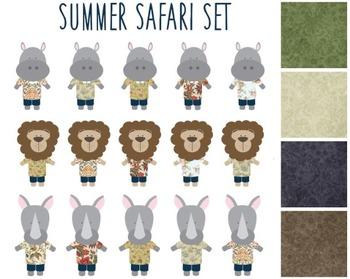 Safari Animal Clipart Set #050