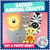 Safari Animal Crafts Bundle Pack