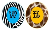 Safari-Animal Print Welcome Circles **