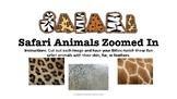 Safari Animal Prints Zoomed In