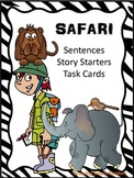 Safari Sentences - Story Starters