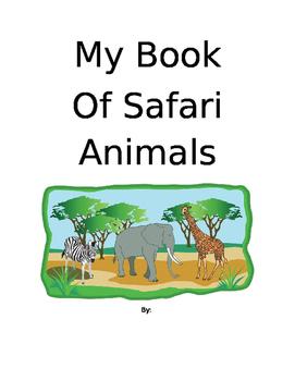 Safari Animals Book