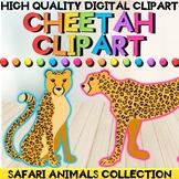 Safari Animals - Cheetah Clipart (PNG Images)