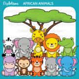 Safari Animals Clip Art, Jungle Animals,  African Wildlife