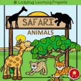 Safari Animals Emergent Reader Set