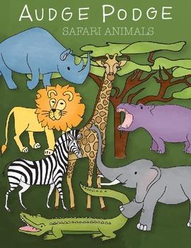 Safari Animals Graphic Pack FREEBIE