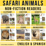 Safari Animals Non-Fiction Spanish Readers