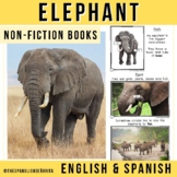 Safari Animals Non-Fiction Spanish Readers - El Elefante (The Elephant)