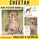 Safari Animals Non-Fiction Spanish Readers - El Guepardo (The Cheetah)