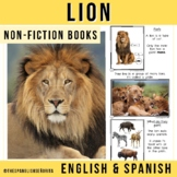 Safari Animals Non-Fiction Spanish Readers - El León (The Lion)