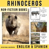 Safari Animals Non-Fiction Spanish Readers - El Rinoceronte (The Rhinoceros)