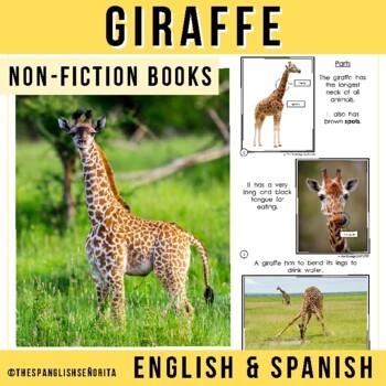 Safari Animals Non-Fiction Spanish Readers - La Jirafa (The Giraffe)