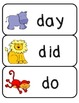 Safari Animals Word Wall {Kindergarten}