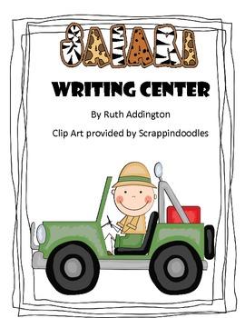 Safari Animals Writing Center