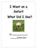Safari Animals-Class Book