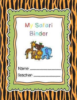 Safari Binder Cover
