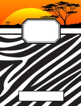 Safari Binder Covers