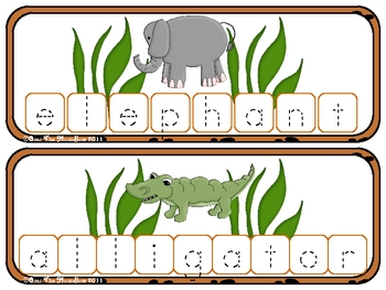 Safari Build - a - Word Spelling & Vocabulary Game