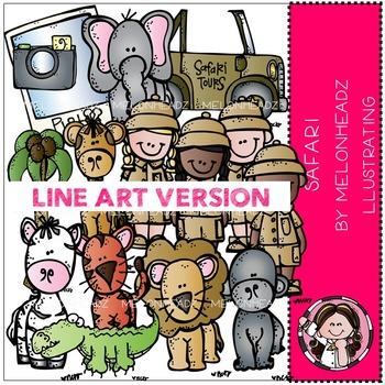 Safari by Melonheadz LINE ART