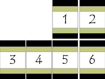 Safari Calendar Neutral Colors