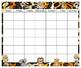 Safari Calendar & Numbers 24x20