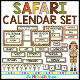 Safari Calendar Set Including Weather, Seasons, Daily Math and more!