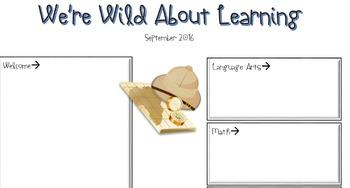 Safari Class Newsletter