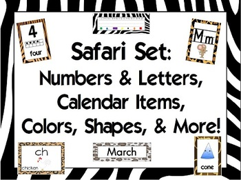 Safari Classroom Combo Pack