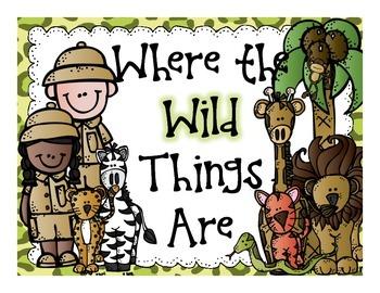 Jungle and Safari Classroom Theme