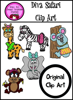 Clip Art Diva Safari Animals