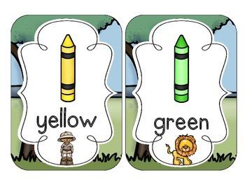 Safari Color Cards