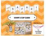 *FREEBIE* Safari Count and Clip Cards