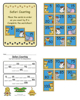 Safari Counting by 5's