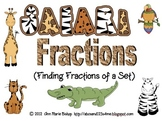 Safari Fractions - Finding Fractions of a Set